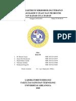 Laporan Praktikum Mikrobiologi Terapan