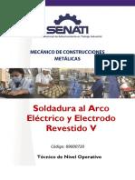 SOLDADURA AL ARCO ELECTRICO Y ELECTRODO REVESTIDO V