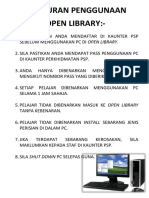 Peraturan Penggunaan Open Library (1)