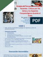 Aeroevacuación - Residentes
