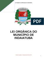 Lei Organica Municipal Indaiatuba Texto Integral