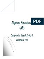 Algebra Relacional 2k10-11