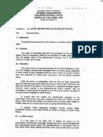 LOI Salaam Police (PCR)