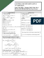 [bsquochoai] Chuyên đề - Giới hạn hàm số (1) 7đ http://bsquochoai.ga