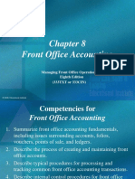Chapt-8 Front Office Accounting