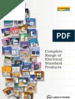 Switch Gear Elecrical Standard Product Range