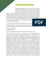 CasosPrácticos de Derecho Internacional Privado