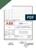 1. Protocolo de Prueba SAT de Protección de Barras 220kV