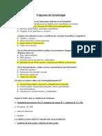 Preguntas de Hematología 1