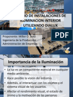 Diseño de Instalaciones de Iluminacion Interior