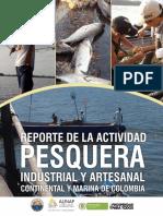 2012 AUNAP Reporte Actividad Pesquera Colombia