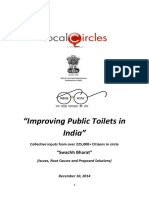Improving State of Public Toilets in India Collective Inputs of 225,000 Citizens to Government.compressed