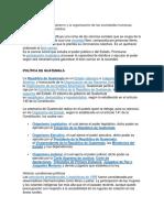 Politica de Guatemala