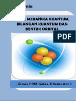Modul TEORI MEKANIKA KUANTUM, BILANGAN KUANTUM DAN BENTUK ORBITAL.docx