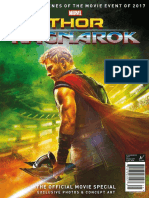 Thor Ragnarok ; The Official Movie Special - 2017