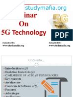 CSE 5G Technology PPT