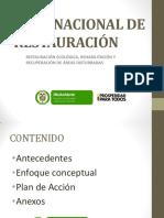 PResentacionj. Sanchez Plan Nacional Restauracion - Copia