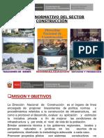 Marco Normativo Del Sector Construcción peruano