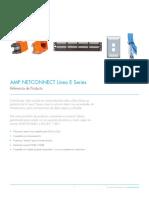 Amp Netconnect Línea e Series Cat 5e y Cat 6 317114la