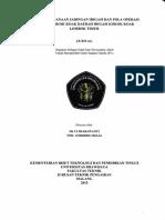 Studi Perencanaan Jaringan Irigasi Dan Pola Operasi Embung Kokok Koak Daerah Irigasi Kokok Koak Lombok Timur Silvi Prabawanti 115060400111063 2