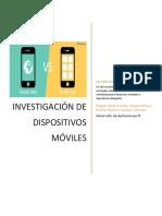Investigacion de Desarrollo Móvil