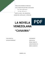 Analisis de la novela venezolana Canaima