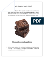 Wholesale Brownies Supply Bristol | Brownies Supply Bristol - thebakeshed - The Bakeshed