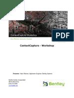 ContextCapture Workshop En