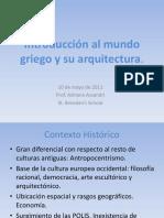 Contexto Histórico y Arquitectura Griega