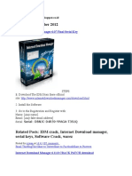 Internet Download Manager 6.07 Final Serial Key