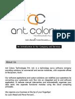 Ant Colony Profile