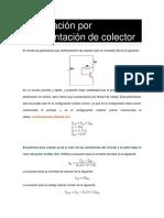 Polarización Por Realimentación de Colector