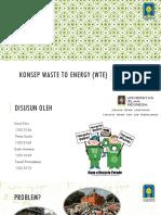 Konsep Waste to Energy