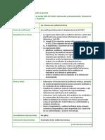 ISO 30301 Apartado de La Norma 9.2