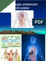 Lectie 24 Fiziologia Sistemului Circulator.