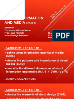 Media and Information Literacy (MIL)- Visual Information and Media (Part 1)