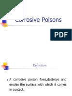Corrosive Poisons i