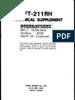 Yaesu FT-211RH Technical Supplement Service Manual