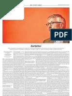 Zartbitter - Stephan Klein über Thilo Sarrazin