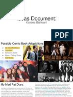 ideas document