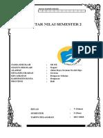 Daftar Nilai Kelas v SMT 2 REVISI 2017