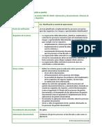 ISO 30301 Apartado de La Norma 8.1