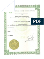 Bussiness Licences & ISO Certificate