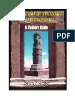 The Enigma of Tiwanaku and Puma Punku by Brien Foerster