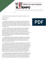 Una Mirada a Las Politicas Educativas en Elgobierno de Cipriano Castro