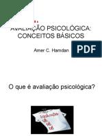 conceitos basicos de avaliação psicologica