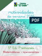 5EP Matematicas Operaciones y Problemas