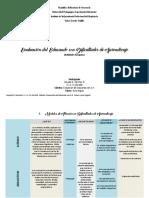 Evaluacion Del Educando Con Dificultades Del Aprendizaje. Cuadros Comparativos de Conceptos
