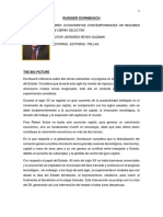 Economistas Contemporanoes Un Resumen de Obras Selectas- Rudiger Dornbusch