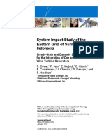 NREL - System Impact Study of the Eastern Grid of Sumba Island